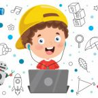 banner-with-little-kid-using-technology_29937-4286
