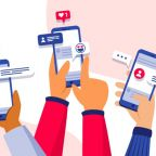 social-media-marketing-phone-concept_23-2148411107